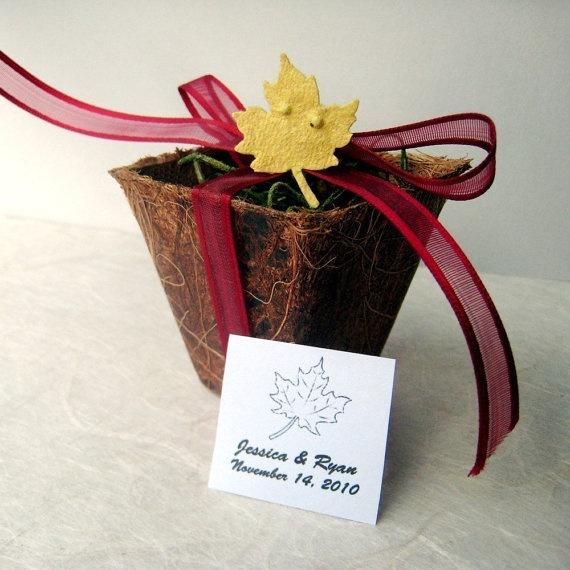 Wedding favor plant keri s wedding ideas pinterest