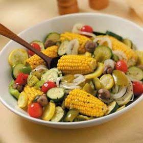 Global Health: Grilled Summer Vegetable Medley Recipe