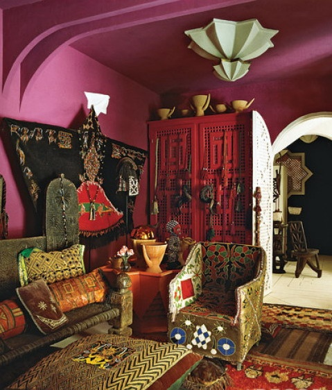 Moroccan Style Living Room Ideas For Purple Room Pinterest