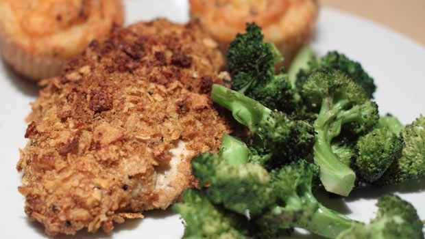 Spiced-Up, Oven-Fried Chicken | Recipe
