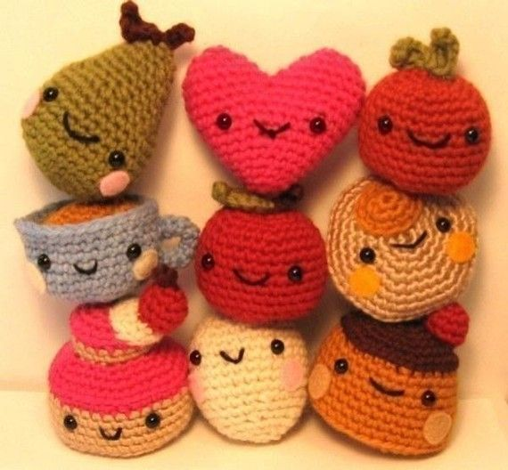 Micro Amigurumi Animal Patterns : Cute Tiny Amigurumi crochet pattern Crochet Toys Pinterest