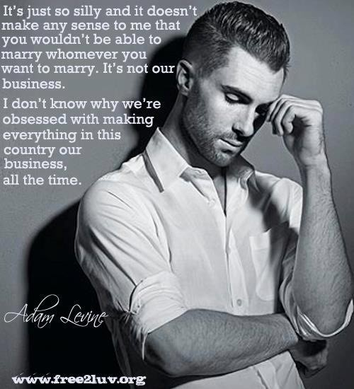 I love Adam Levine | Pictures / Quotes / Sayings | Pinterest