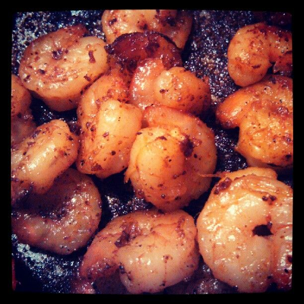 Beautiful Pan Seared Shrimp #SundaySupper @Nicole Cook {Daily Dish ...