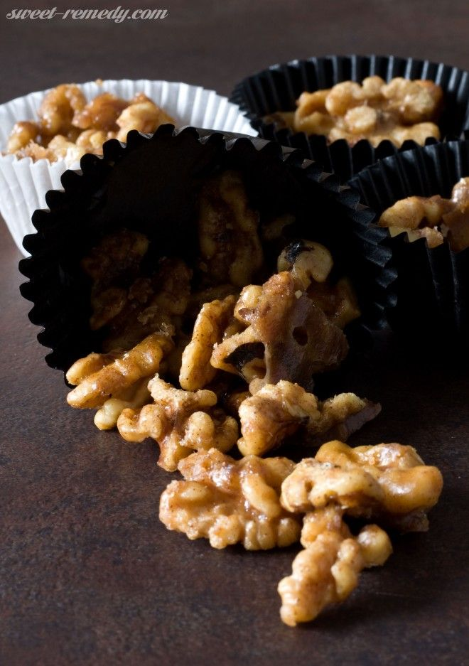Candied Maple Glazed Walnuts | Recipe