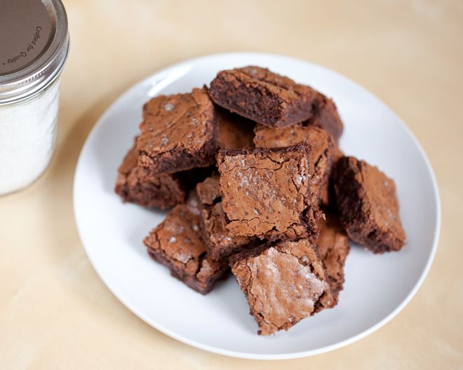 Salted Fudge Brownies | Cookies & Bars | Pinterest