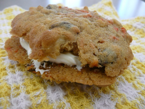 Inside-Out Carrot Cake Cookies | Caught my 'Pinterest' | Pinterest