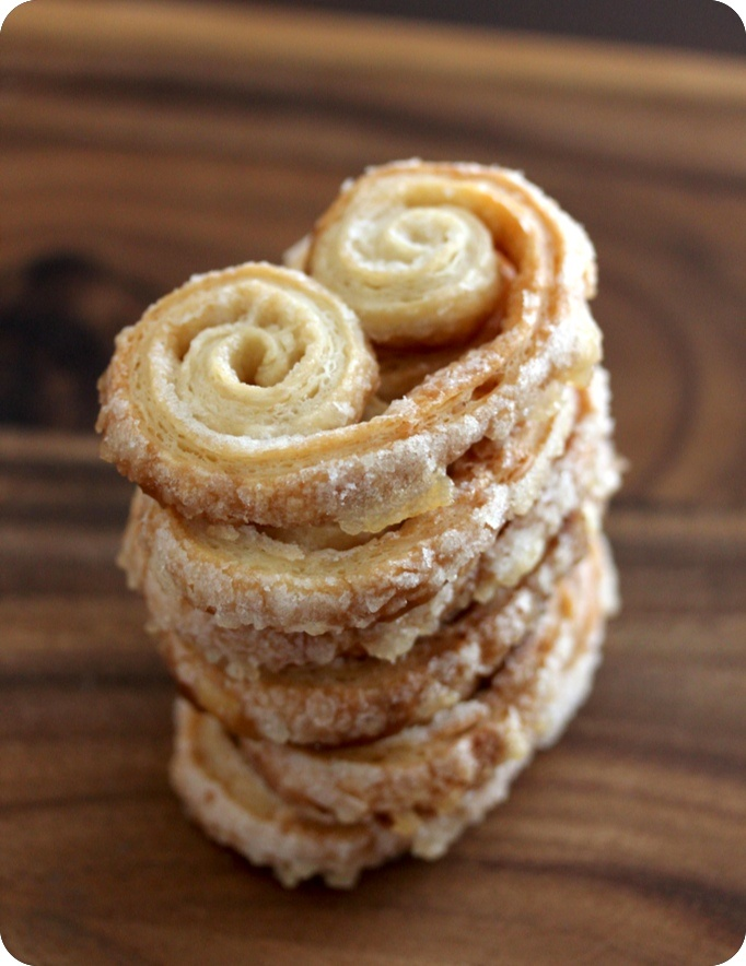 Palmiers + Homemade Puff Pastry | Puff pastry | Pinterest