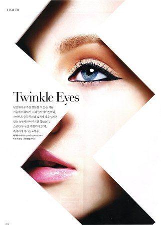 Magazine layout beauty