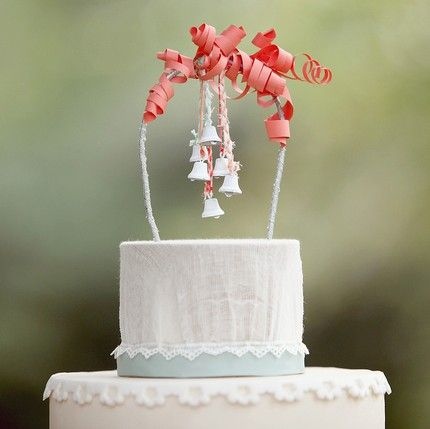 diy cake topper ideas wedding planning pinterest