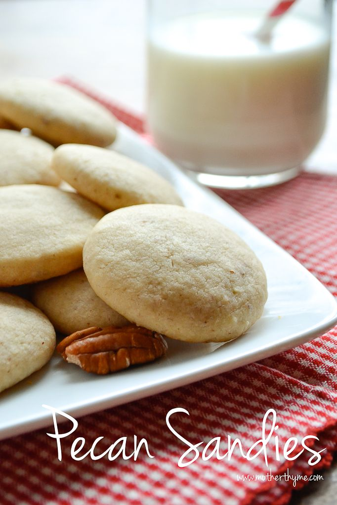 Pecan Sandies | Recipe