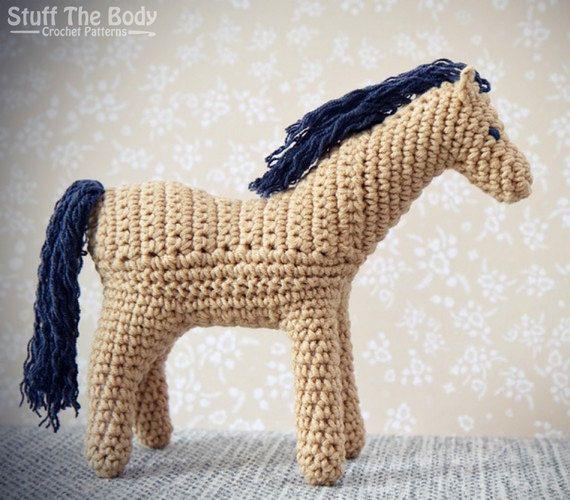 Curly Pony amigurumi crochet pattern, Horse amigurumi ...