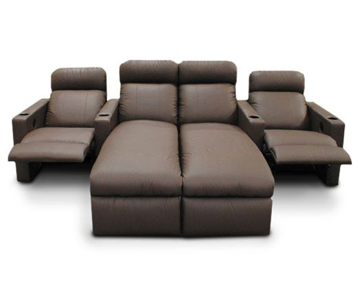 Media Room furniture! These would be great for the family/ living room ...