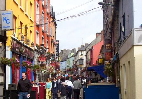 O And F Galway Shop Street in Galway | Life Experienc[ed] | Pinterest