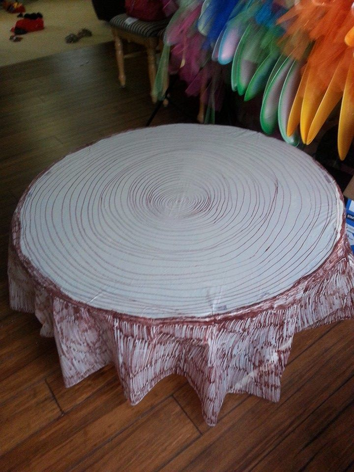 Coffee table made into tree stumps fairy cool pinterest