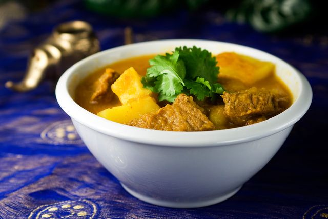 Pumpkin, Beef, and Potato Curry -- you've got to try it!: Burmese Beef ...