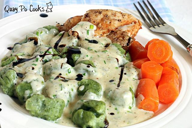 spinach ricotta gnocchi | Fat Belly Wobble Wobble | Pinterest