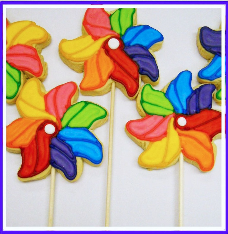 Rainbow Pinwheels and cookies! Yummy... | Color Rainbow | Pinterest