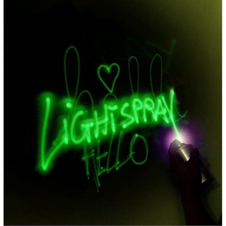 glow in the dark spray paint glow in the dark paint ideas pintere. Black Bedroom Furniture Sets. Home Design Ideas