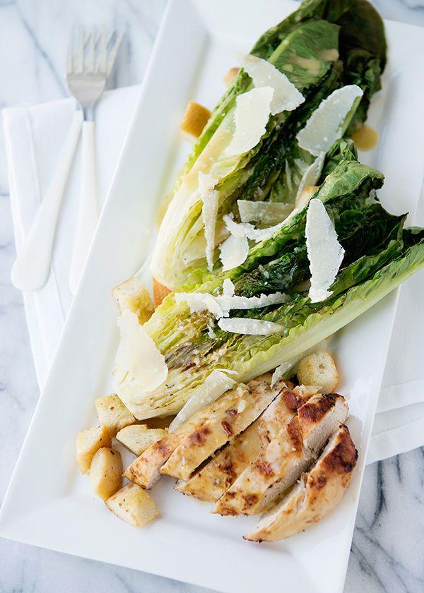 Baked Bree | Grilled Chicken Caesar Salad