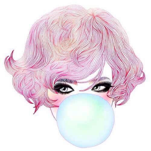 19yo chewing gum hairy ebony teen spreading amp cumming on cam 3