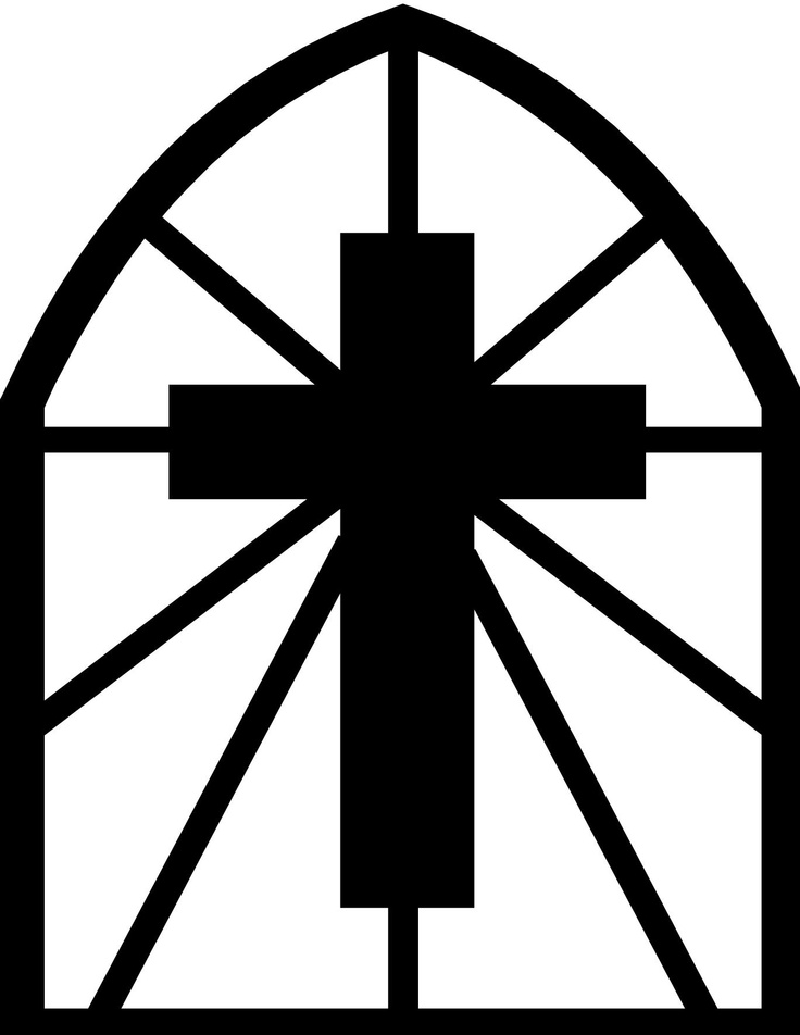 Gallery For gt Stained Glass Cross Coloring Page
