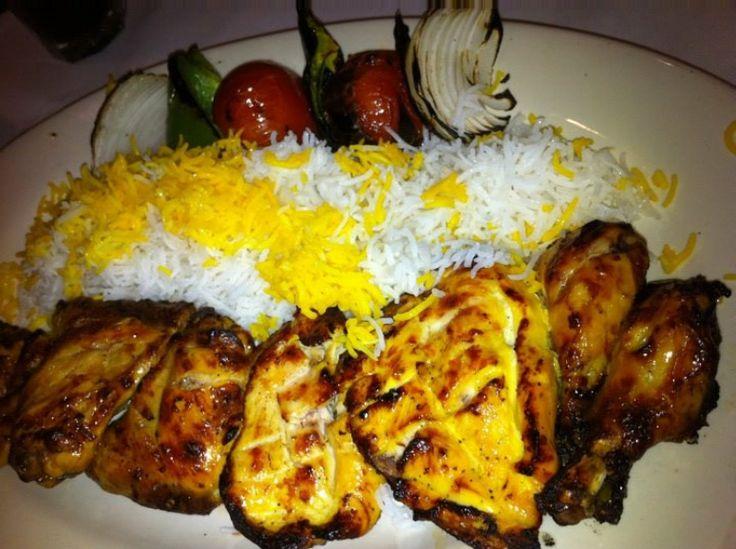 Persian Chicken Kabobs | Food/Recipes | Pinterest