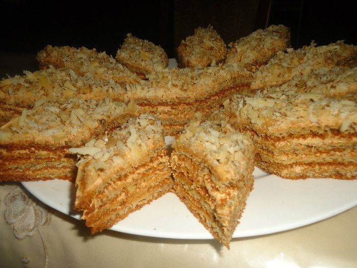 Торты печенье в домашних условиях