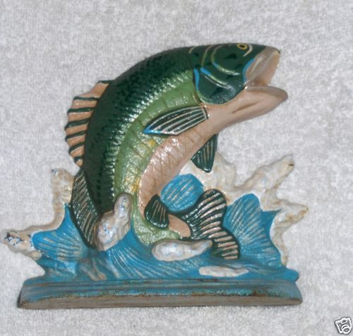 Pin by barbara prentice on items i sell on auction sites for Fish door stop