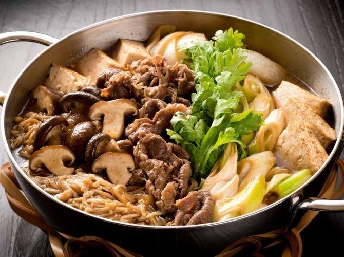 Sukiyaki Recipe by Chef Kimio Nonaga. | Japan | Pinterest