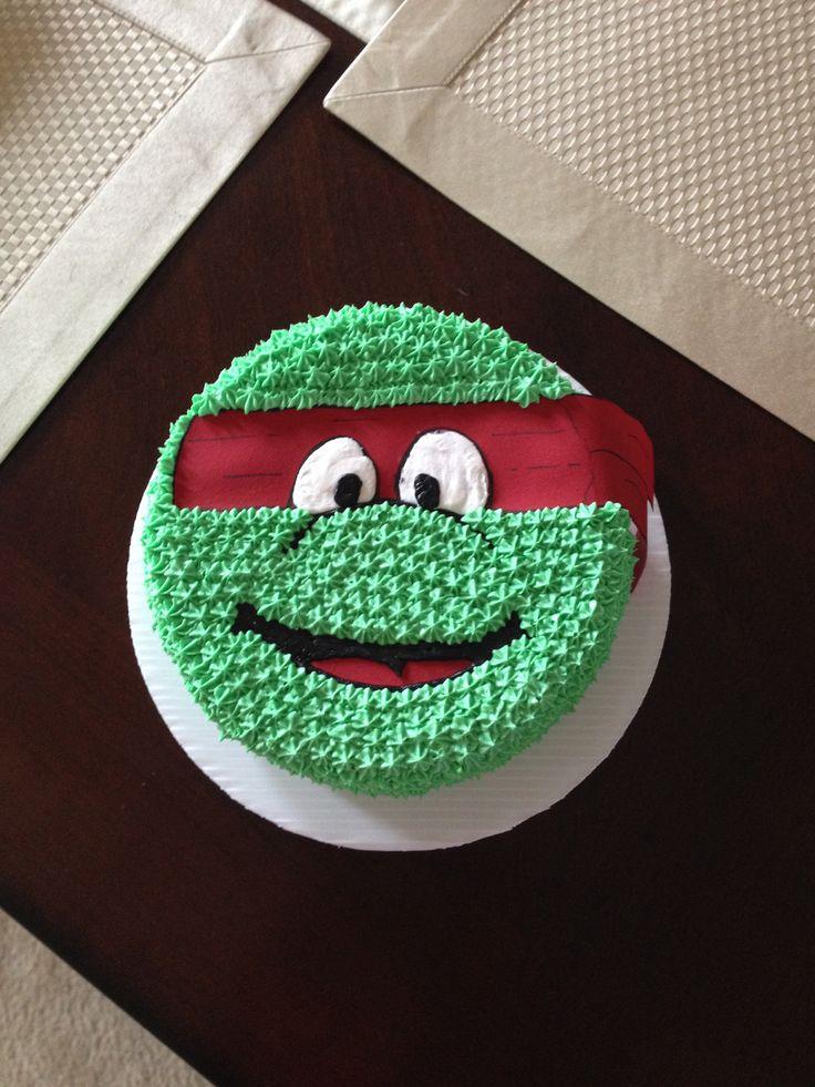 teenage mutant ninja turtle smash cake my cakes pinterest