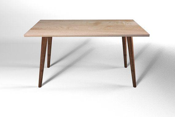 Mid century modern dining table leg