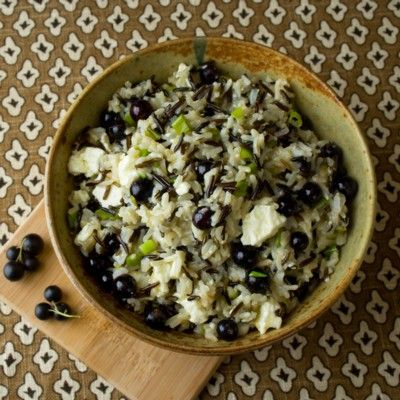 Brown Rice Salad with Fresh Currants | Recipe