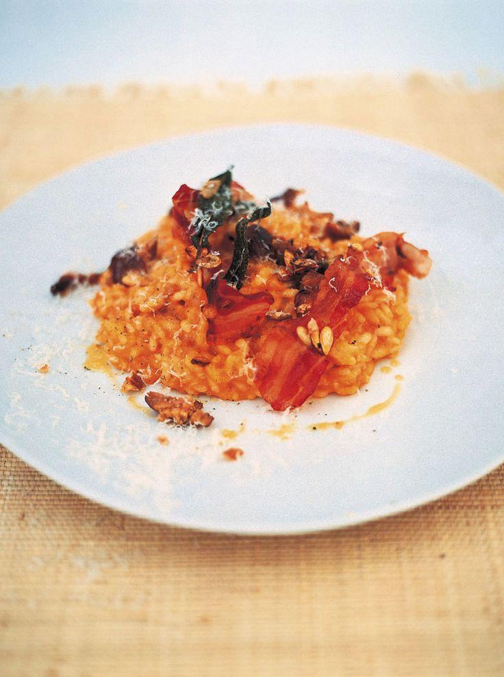 roast squash, sage, chestnut & pancetta risotto | Jamie Oliver | Food ...