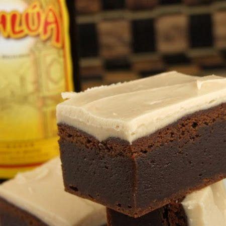 kahlua coffee liqueur chocolate kahlua mousse kahlua truffle triangles ...