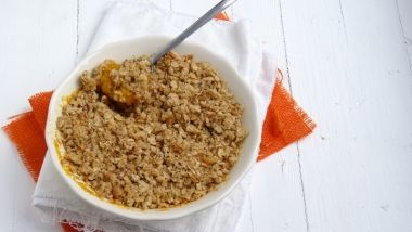 Crumble de avena y mango | Ready for Cooking:Breakfast | Pinterest