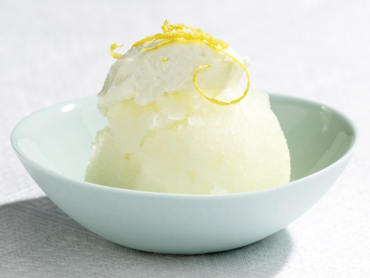 Lemon Ricotta Granita from FoodNetwork.com