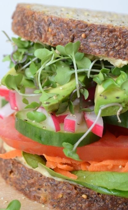 California Veggie Sandwich Recipes — Dishmaps