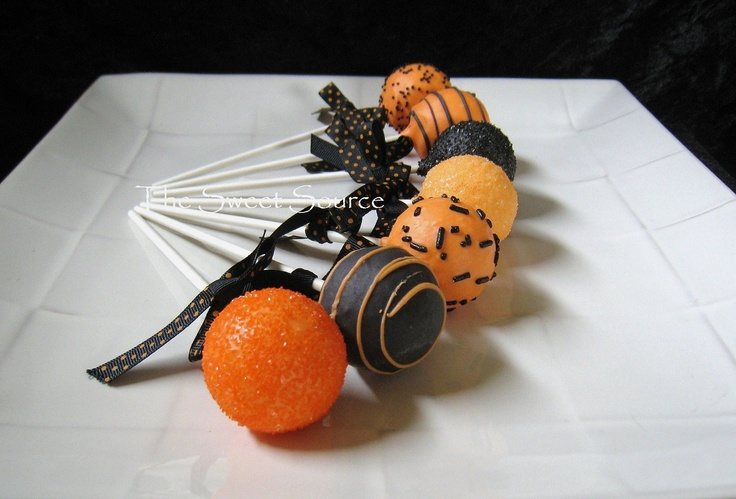 Halloween Party Favors: Halloween Cake Pops Made to Order with High ...