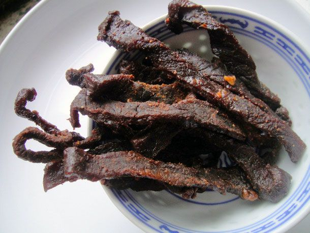 Finally a beef jerky recipe that doesn't require a dehydrator... just ...