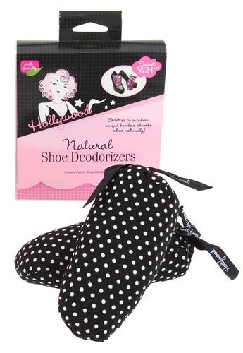 Hollywood Fashion Secrets Natural Shoe Deodorizers 1pr