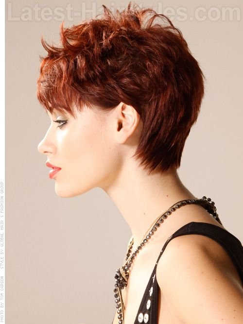 Pixie cut with Tapered Neck | Short Hair & Pixie Cuts | Pinterest