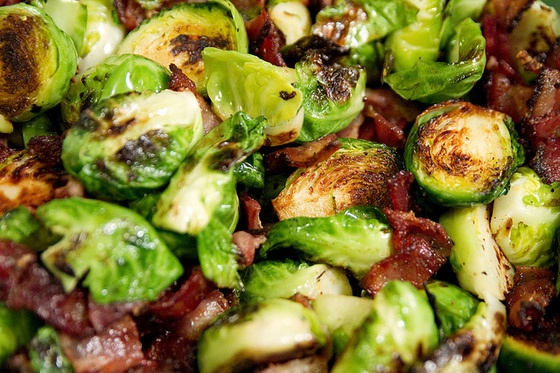 Brussel Sprouts and bacon! | Food Love | Pinterest