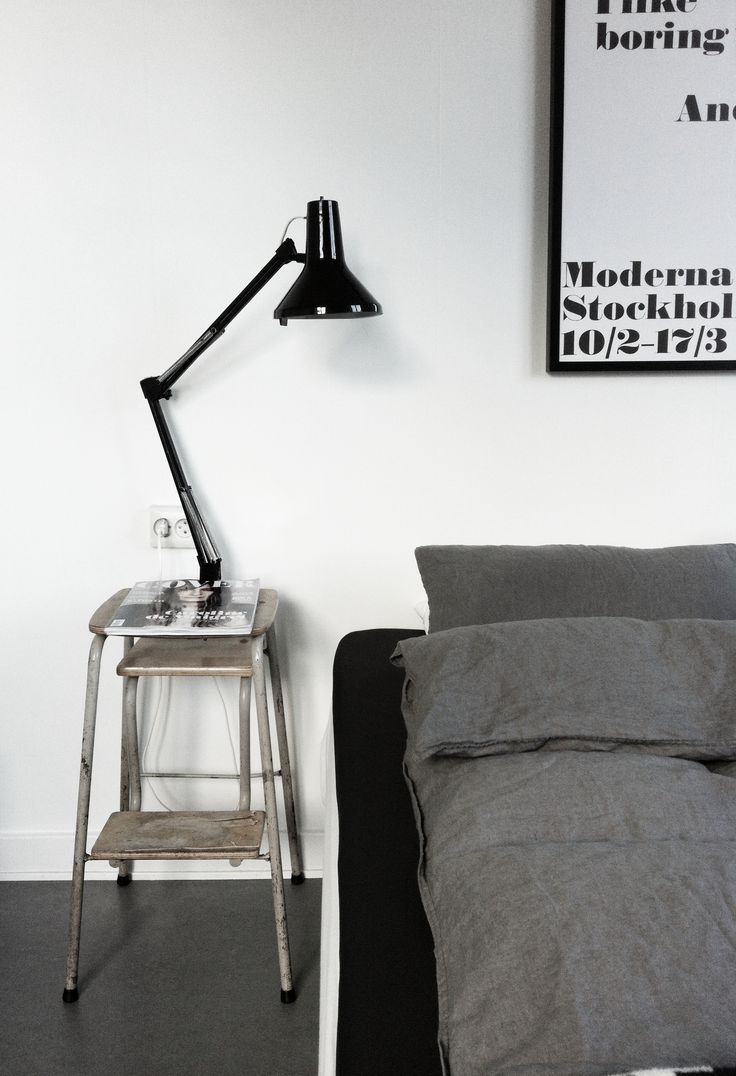 Diy bedside table #grey #white #bedroom |   rueduchatquipeche.blogspot.com