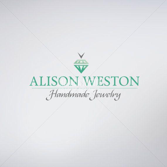 Custom Premade Jewelry Store Logo Design