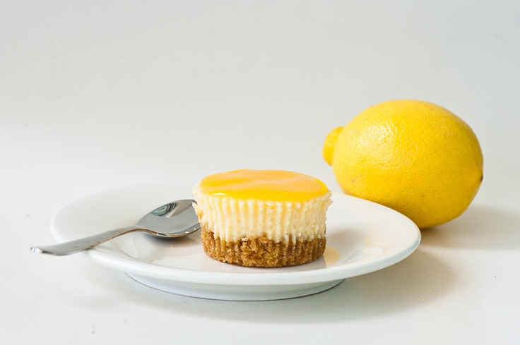 Mini Lemon Cheesecakes | Cheesecake | Pinterest