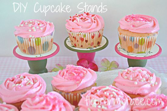 DIY Mini Cupcake Stands Perfect for a Tea Party