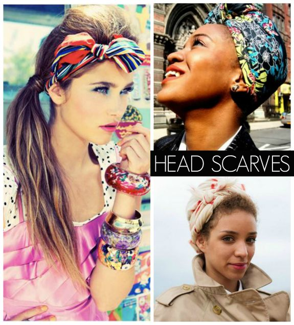 How to Wear Head Scarves How To Wear Scarf On Your Head