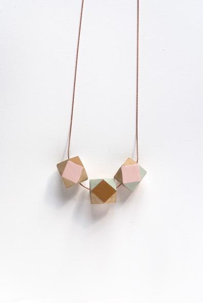 geometry necklace- depeapa