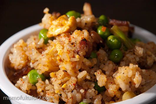 bacon kim chee fried rice from momofukofor2.com (to make ahead and ...