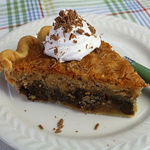 Chocolate Chip Cookie Pie | MyRecipes.com